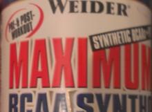 Vorderseite Verpackung Wieder Maximum BCAA Syntho + PTK